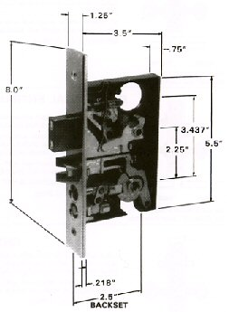 Baldwin Mortise Locks What Is A Mortise Lock