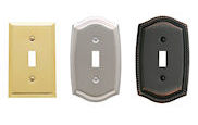 baldwin brass switch plate covers