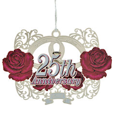2014 25th Anniversary Ornament