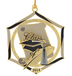 2014 Graduation Ornament by Chem Art