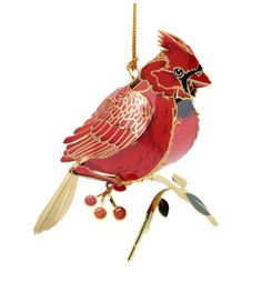 52071 Cardinal Christmas Ornament by Chem Art