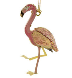 54430 Flamingo Christmas Ornament by Chem Art