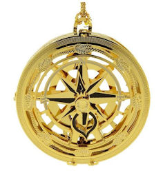 54433 Compass Christmas Ornament by Chem Art