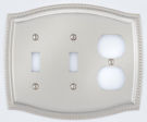 rope style combo toggle/outlet switch plate