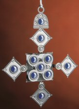 Baldwin Ethiopian Cross Christmas Ornament