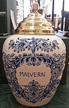 Royal Goedewaagen Blue Delft Tobacco Jar