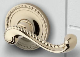 baldwin estate rope lever in lifetime polished brass 003