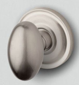 Baldwin #5025 Egg Door Knob in Satin Nickel 150