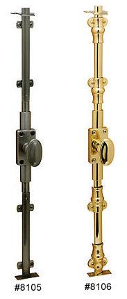 sc 1 st  Wolfeu0027s Baldwin Brass Center & Solid Brass Cremone Bolts Baldwin Hardware