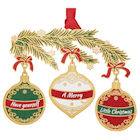 #59442 Merry Little Christmas Ornament
