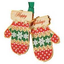 Holiday Mittens Ornament