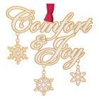 #59446 Comfort and Joy Christmas Ornament