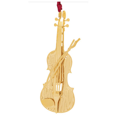 Violin Christmas Ornament Handcrafted in the USA #59482