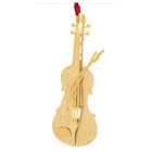 #59482 Violin Christmas Ornament