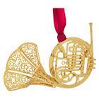 #59483 French Horn Christmas Ornament