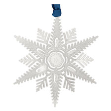 Winter Wishes Snowflake Christmas Ornament