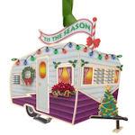 #61313 Vintage Camper Christmas Ornament