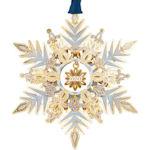 #61340 2020 Snowflake Christmas Ornament