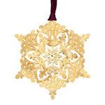 #61343 Royal Snowflake Christmas Ornament