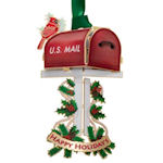 #61344 Holiday Mailbox Christmas Ornament