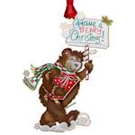 #61346 Beary Christmas Ornament