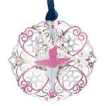 #61354 Ballerina Christmas Ornament