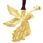 #61842 Heralding Angel Christmas Ornament