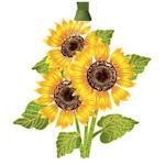 #62394 Sunflowers Christmas Ornament