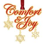 #62791 Comfort & Joy Christmas Ornament