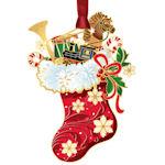 #62792 Classic Christmas Stocking Ornament