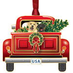 #62890 Holiday Pickup Christmas Ornament