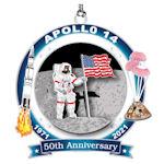 #63455 Apollo 14 50th Anniversary Christmas Ornament