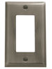 baldwin square bevel single GFCI switch plate