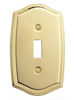 baldwin colonial single toggle switch plate