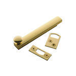 Baldwin solid brass general purpose surface bolt