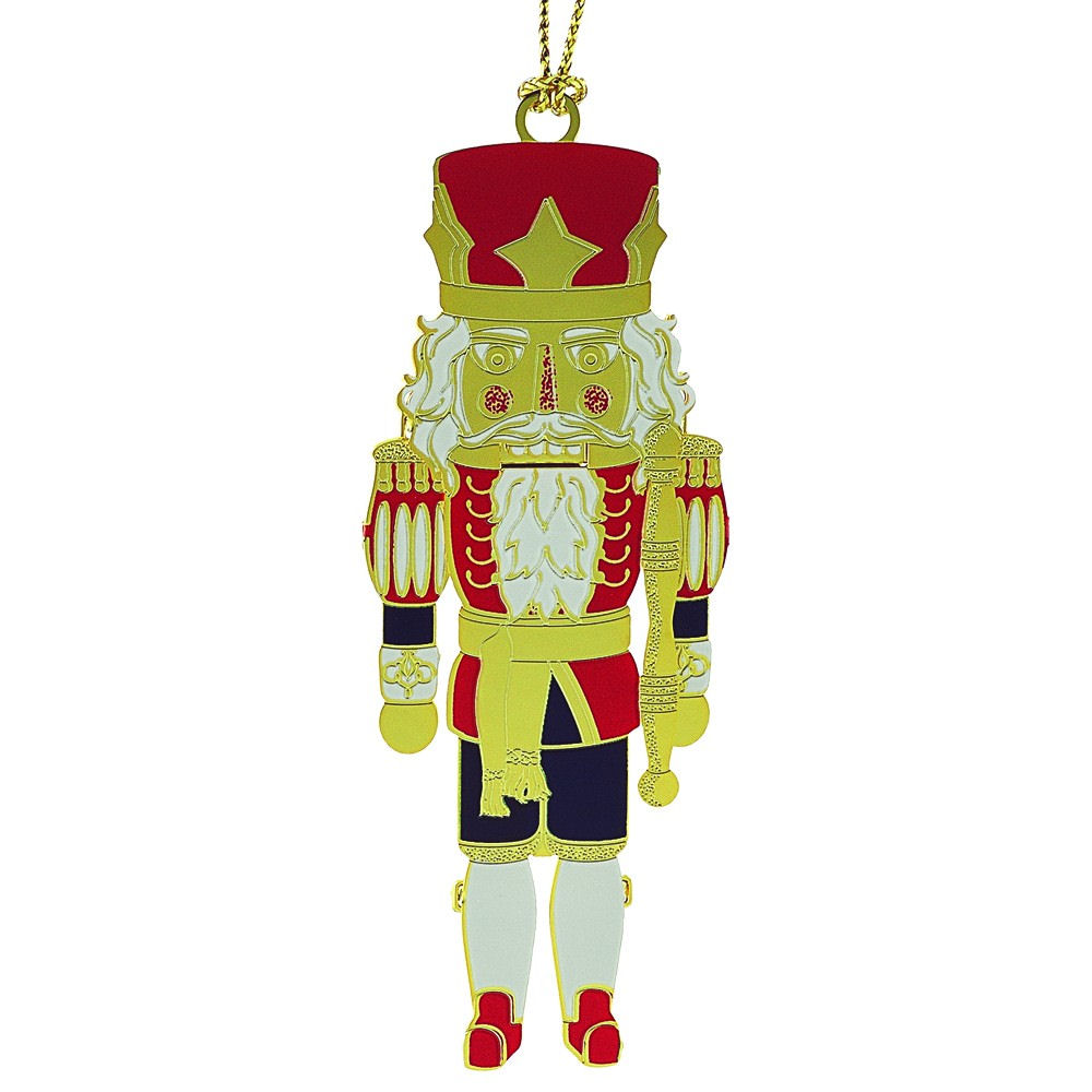 Classic Nutcracker Christmas Ornament Handcrafted in the USA Item #55934