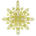 Radiant Snowflake Ornament by Chem Art
