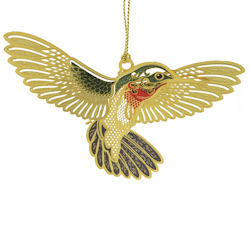 Hummingbird Christmas Ornament