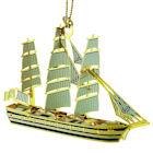 Tall Ship 3D Ornament by Chem Art