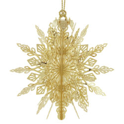 57554 2017 Snowflake 3D Christmas Ornament