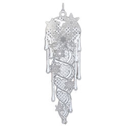 Illuminated Icicle Christmas Ornament