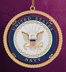 united states navy christmas ornament