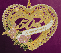 2013 50th Anniversary Christmas Ornament