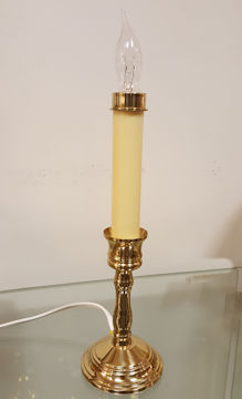 Solid Brass Monticello Electric Window Light