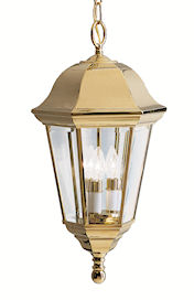Kichler Grove Mill Lifebrite Outdoor Hanging Pendant Lantern