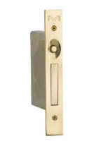 Solid Brass Mortise Edge Pull