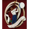 #78904 #1 Golfer Ornament